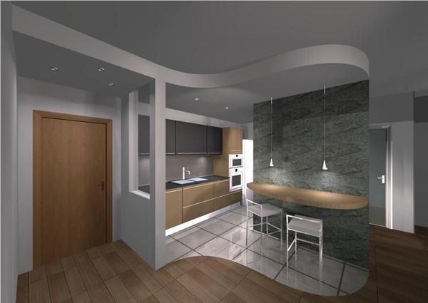 Cucina con penisola for Ingresso arredamento moderno